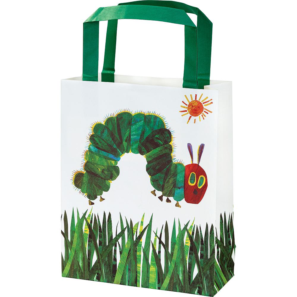 The Very Hungry Caterpillar Gift Bags 8ct Image #1