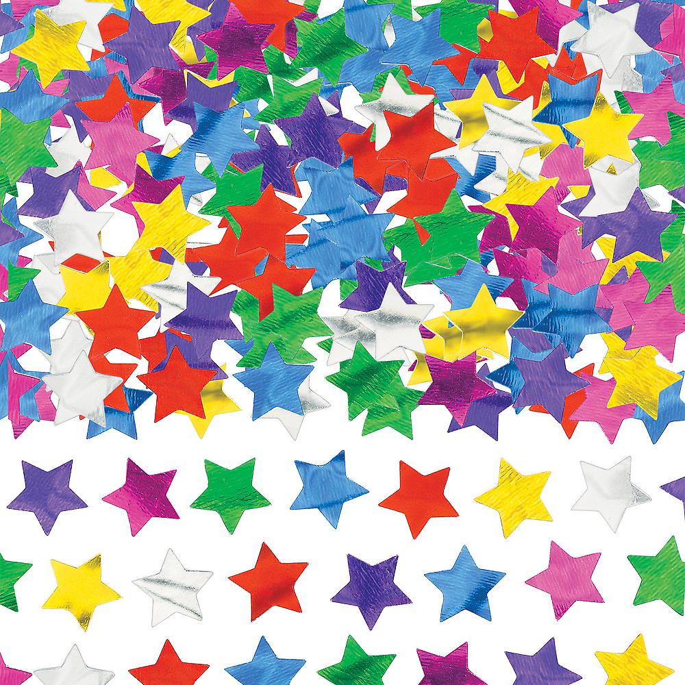Multicolor Star Confetti Image #1