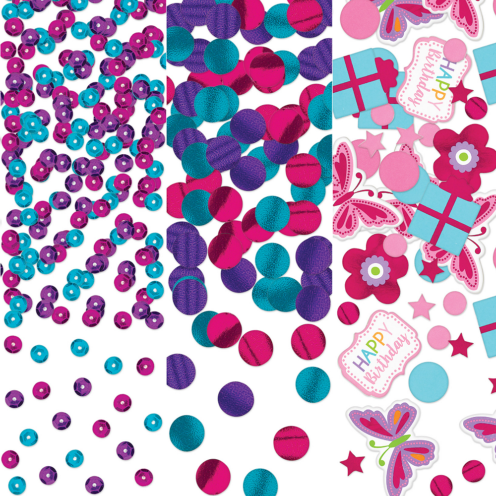 Butterfly Birthday Confetti Image #1