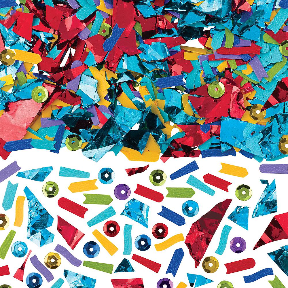 Multicolor Sequin & Sparkle Confetti Image #1