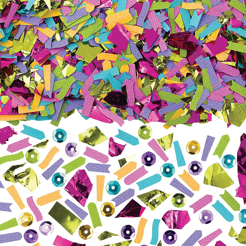 Multicolor Brights Sequin & Sparkle Confetti Image #1