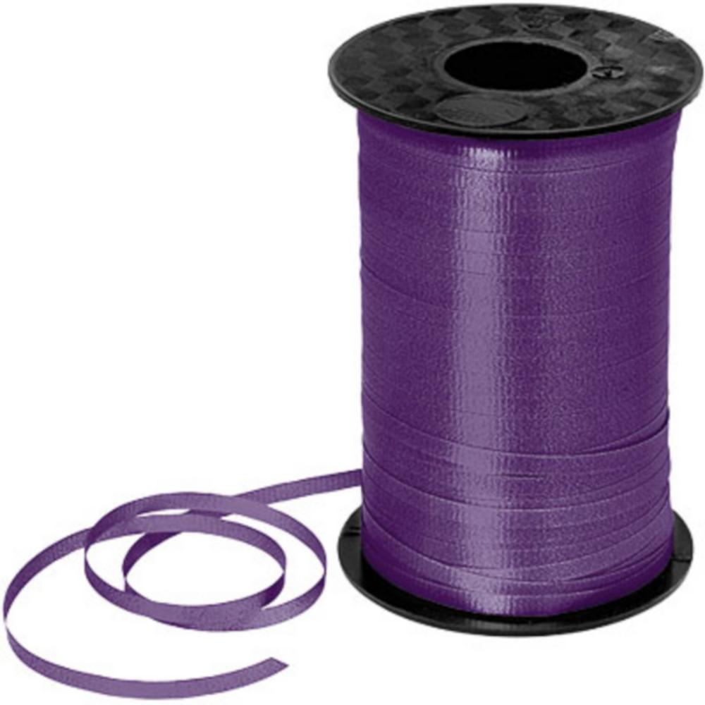 Purple Curling Ribbon Image #1