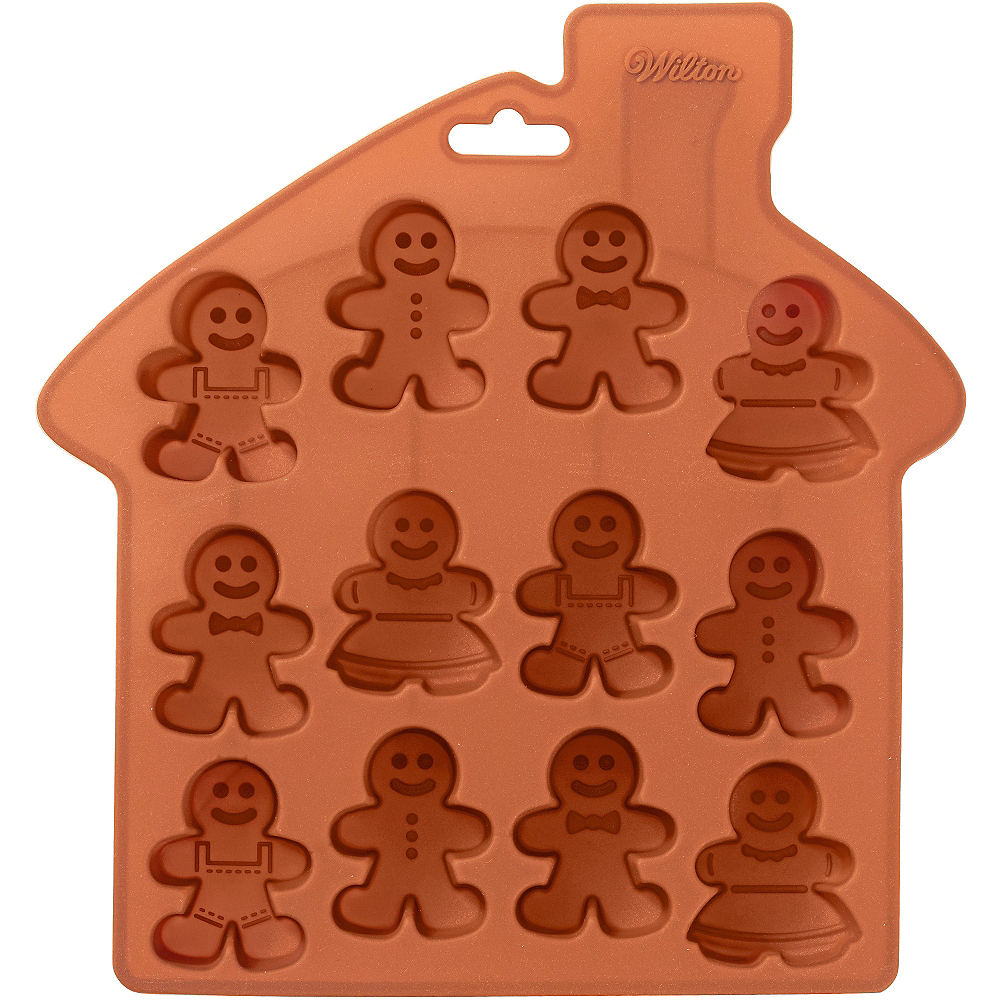 Small Gingerbread Man Treat Mold Image #1