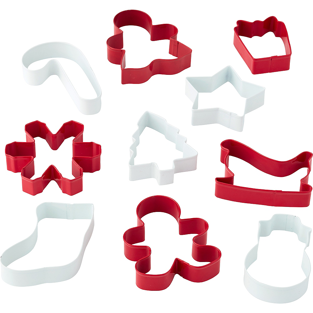 Christmas Cookie Cutters 10ct Image #1