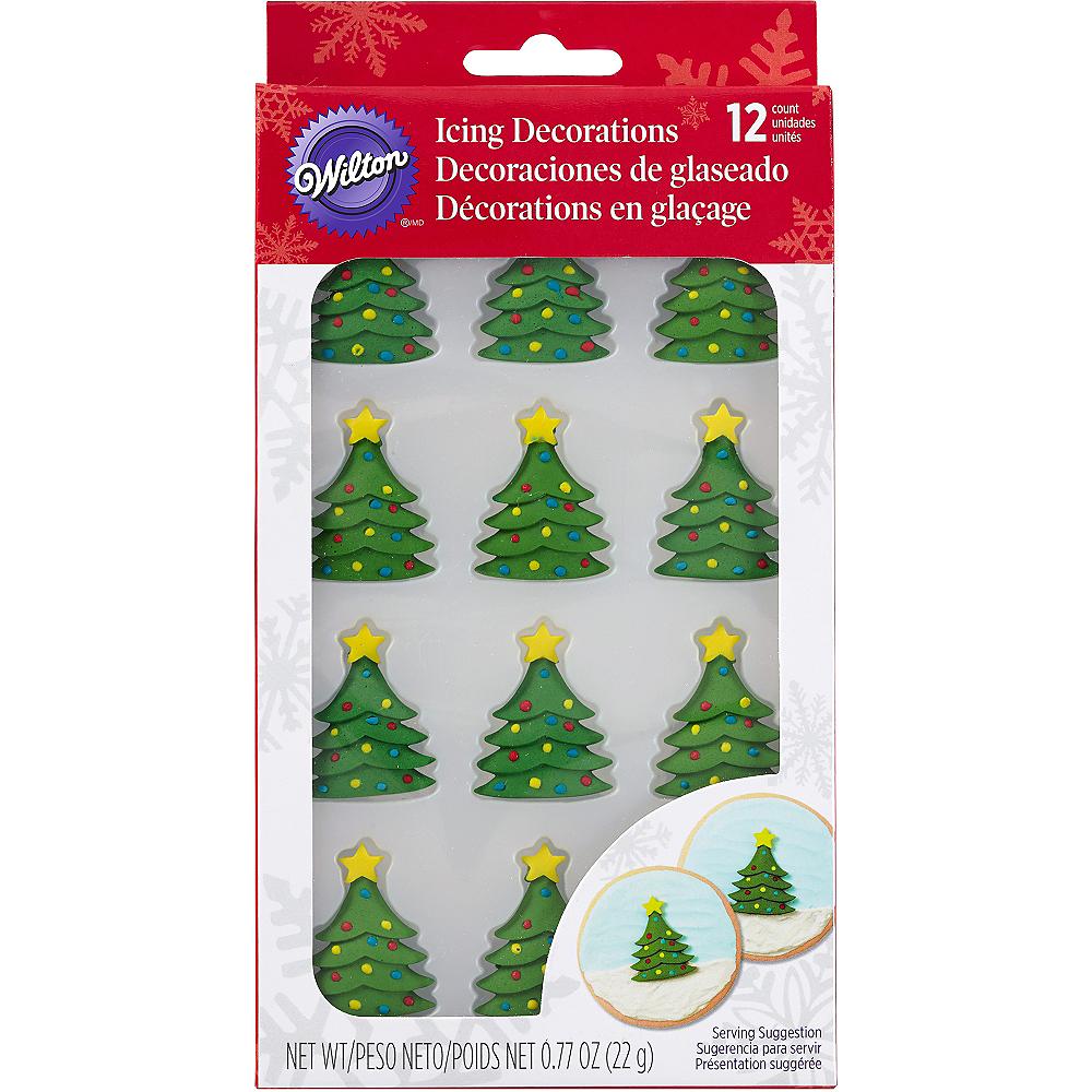 christmas tree icing decorations 12ct image 2