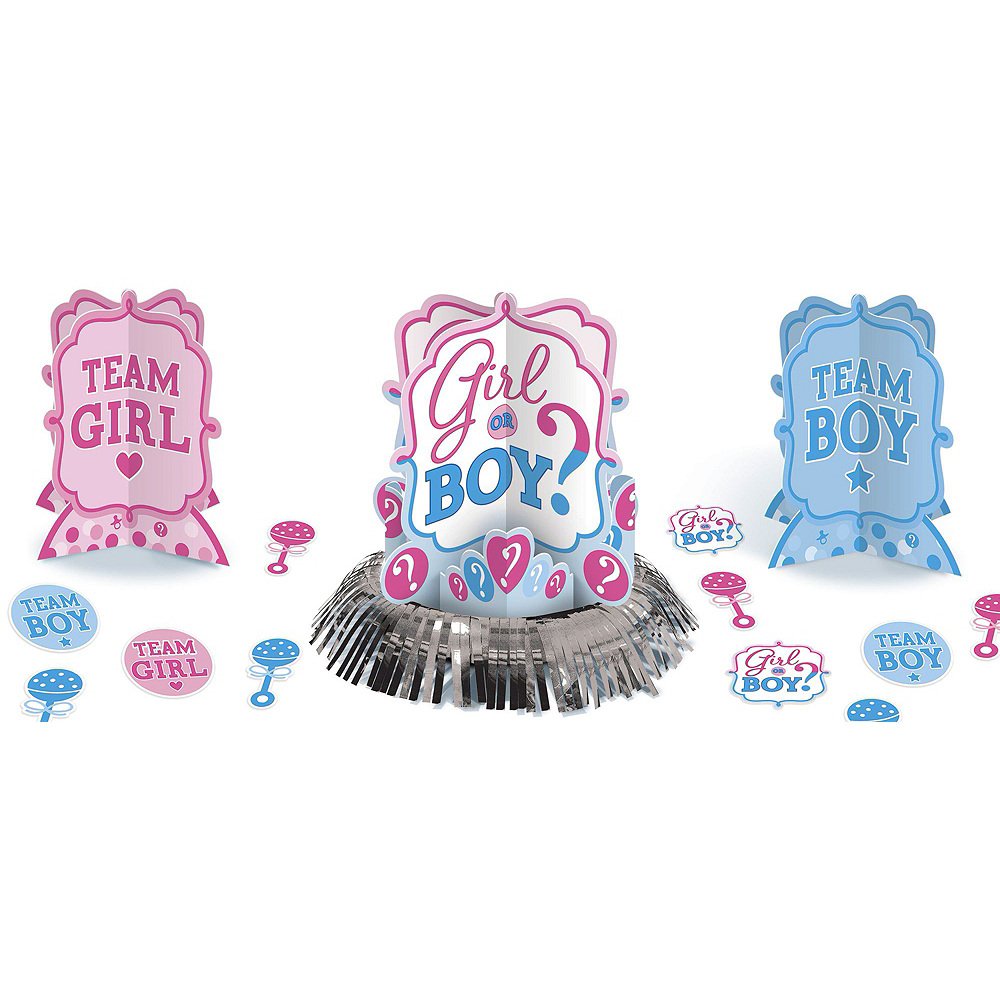 Girl or Boy Gender Reveal Party Kit 32 Guests Image #10