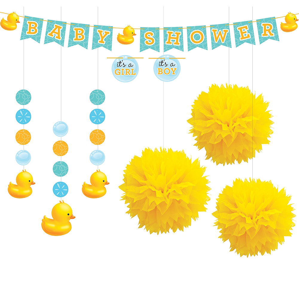 Rubber Ducky Decorations Shower Kit Image #1