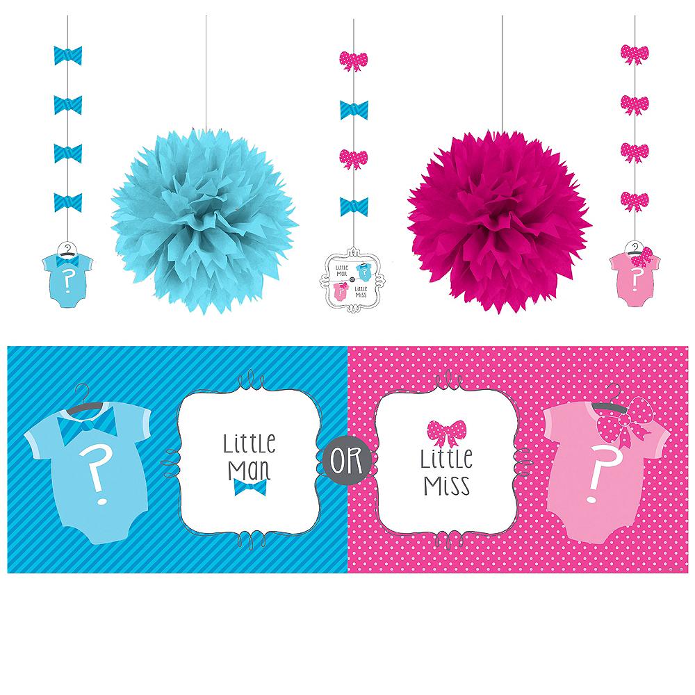 Gender Reveal Decorations Shower Kit Image #1