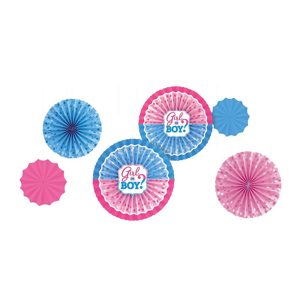 Girl or Boy Gender Reveal Decorations Shower Kit Image #6