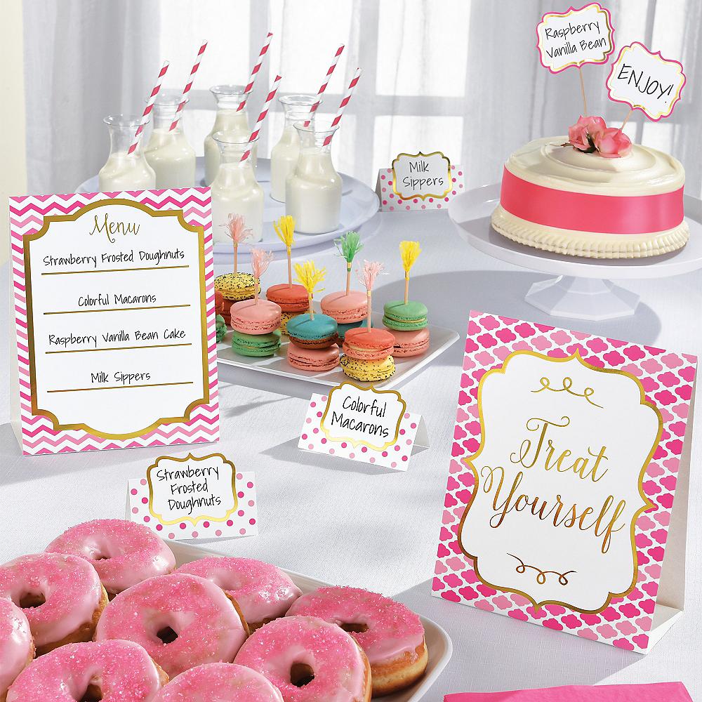 Pink Buffet Decorating Kit 12pc Image #2