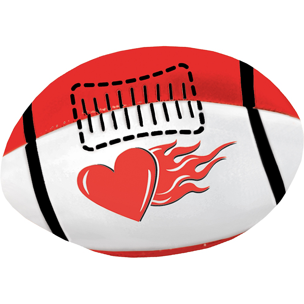 Mini Valentine's Day Football Image #1