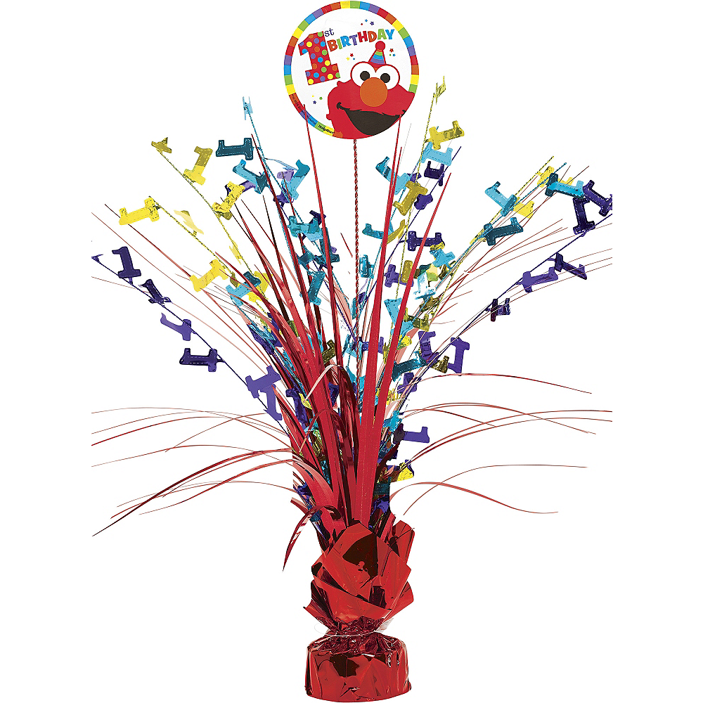 1st Birthday Elmo Spray Centerpiece Image #1