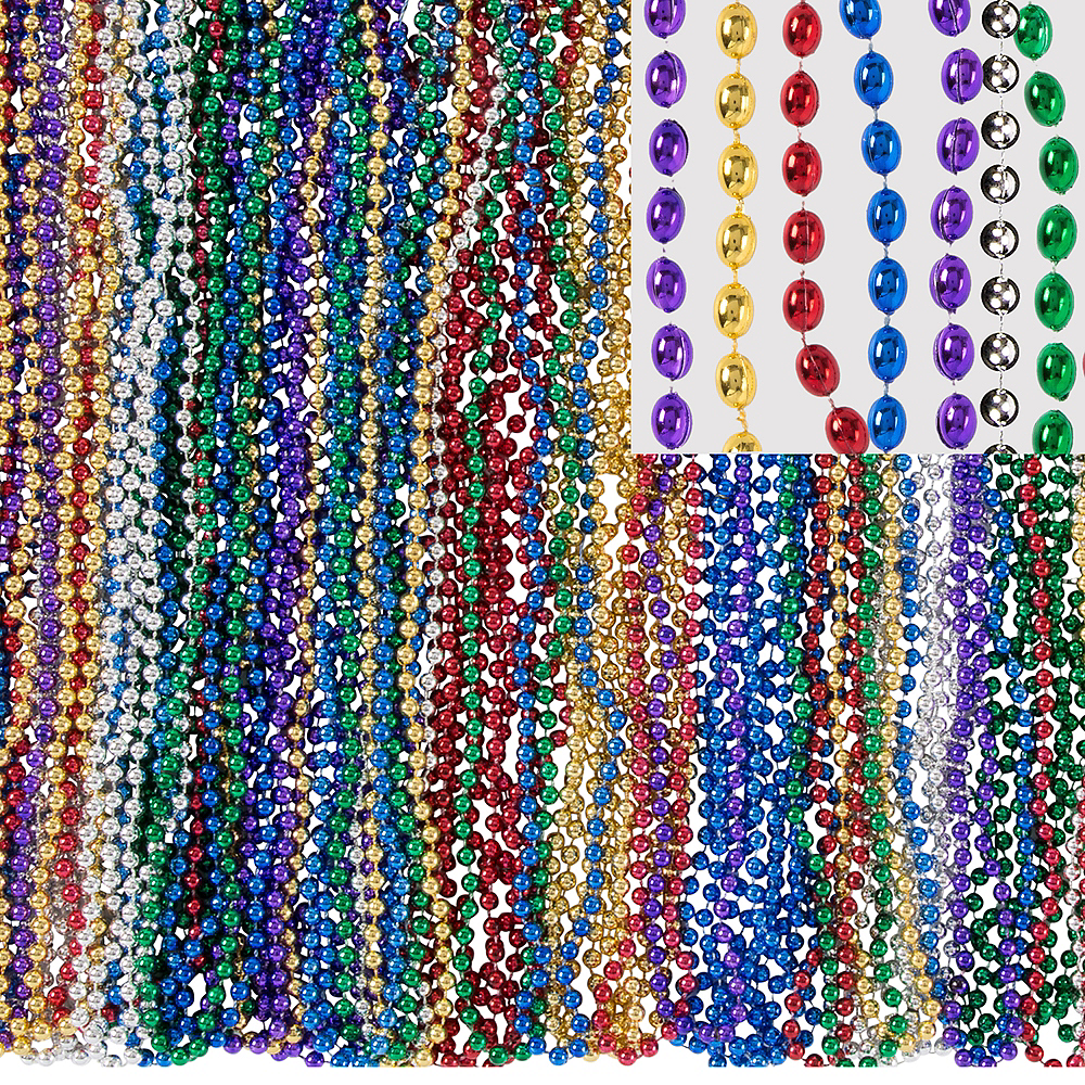 Mardi Gras Bead Necklaces 720ct Image #1