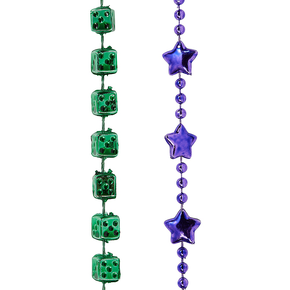Nav Item for Mardi Gras Bead Necklaces 576ct Image #4