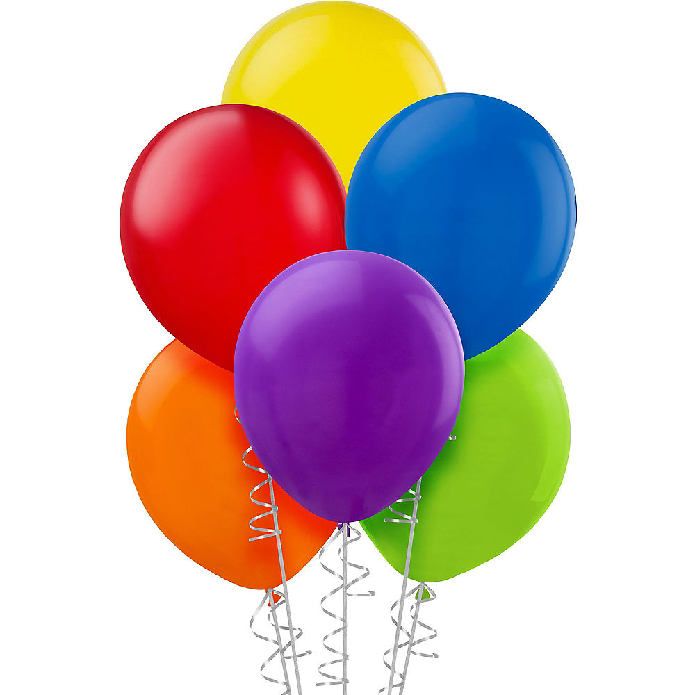 Assorted Color Balloons 20ct, 9in Image #1