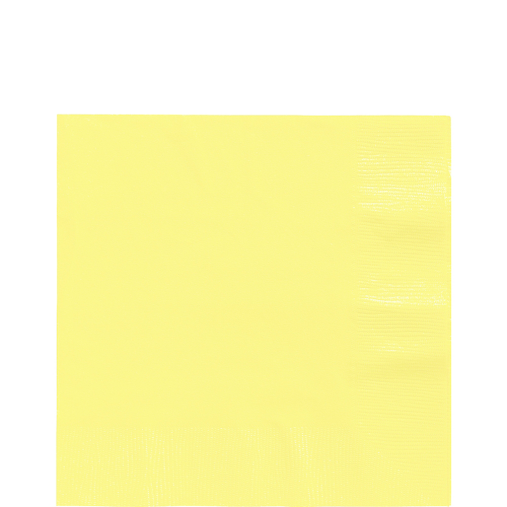 Light Yellow Lunch Napkins 50ct Image #1