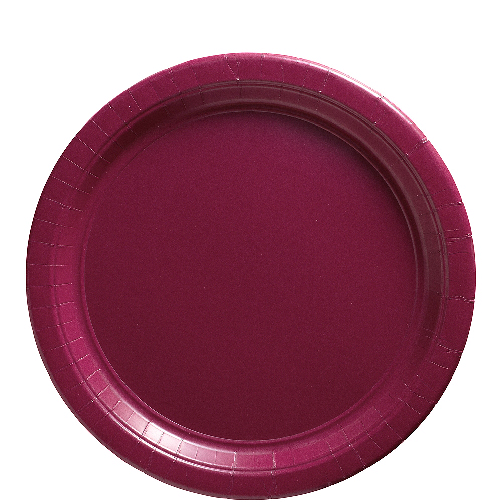 Berry Paper Lunch Plates 20ct Image #1