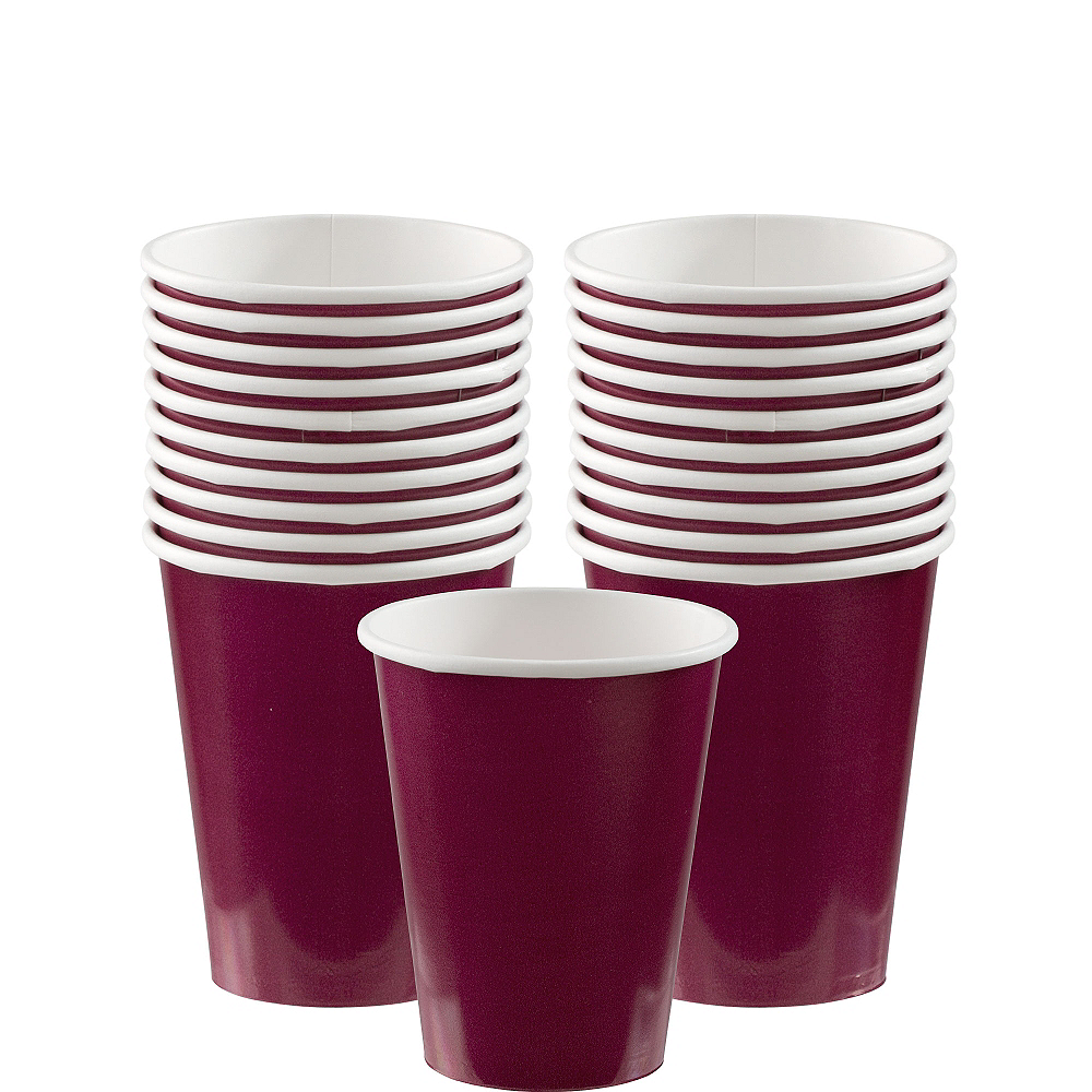 Berry Paper Cups 20ct Image #1