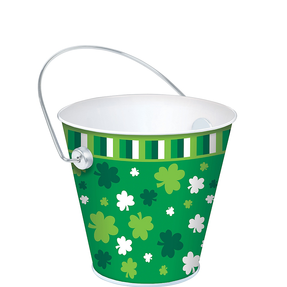 Nav Item for Shamrock Metal Pail Image #1
