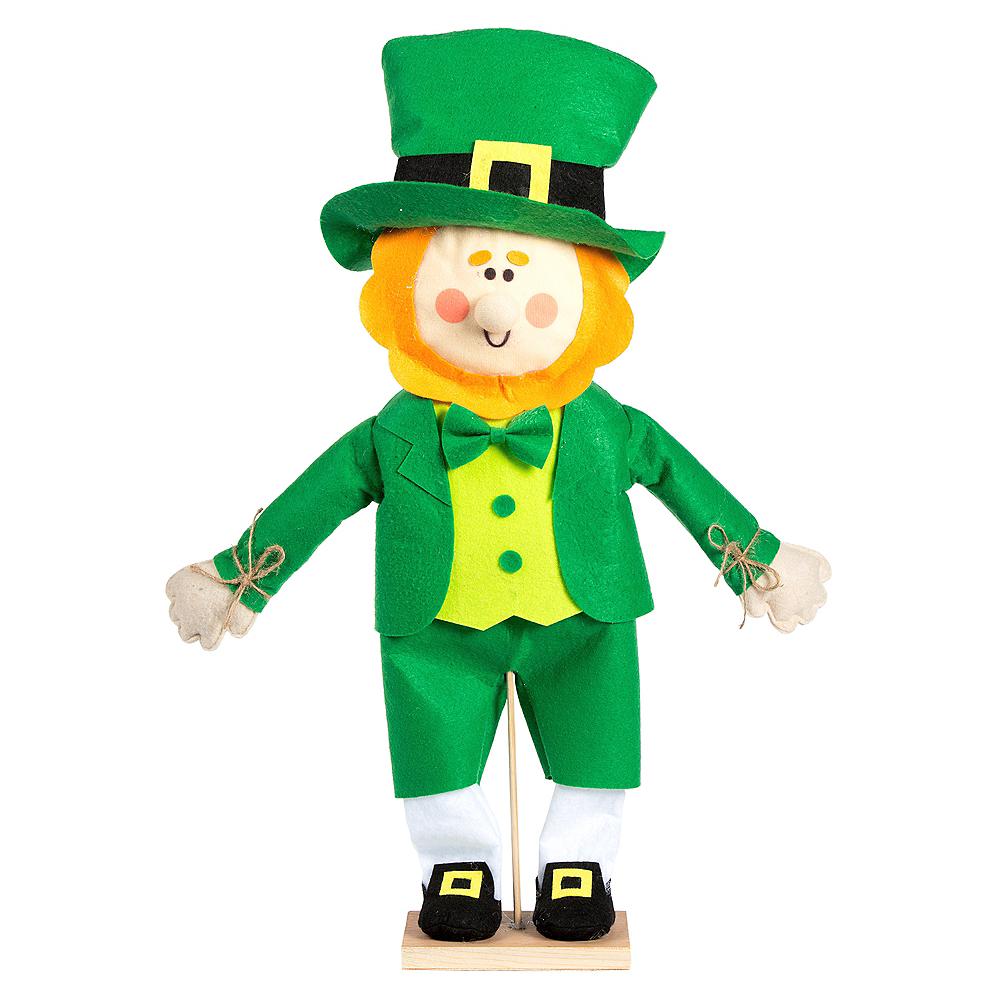 Friendly Standing Leprechaun Decoration Image #1