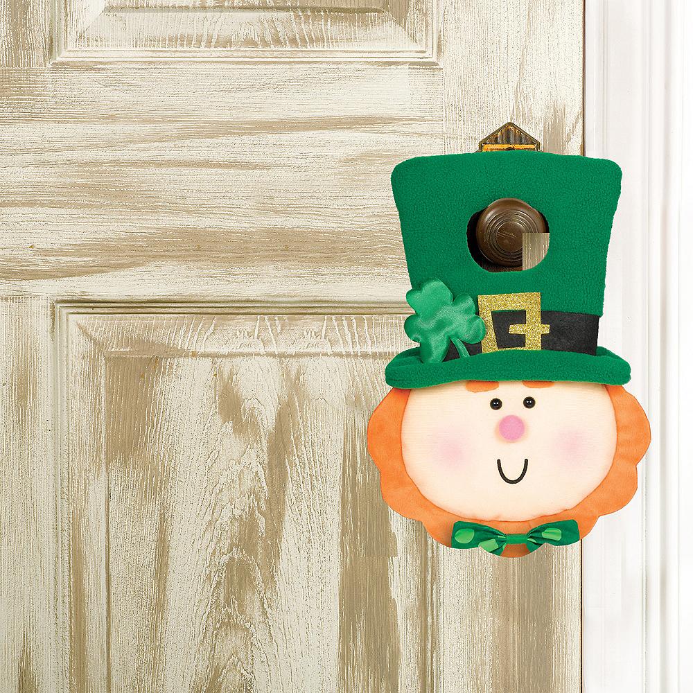 Plush Leprechaun Door Hanger Image #1