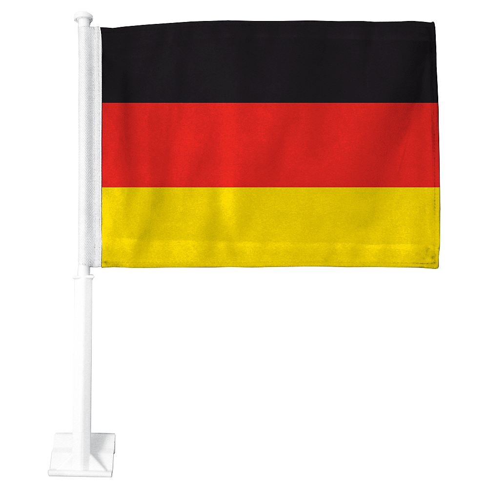 German Flag Car Flag Image #1