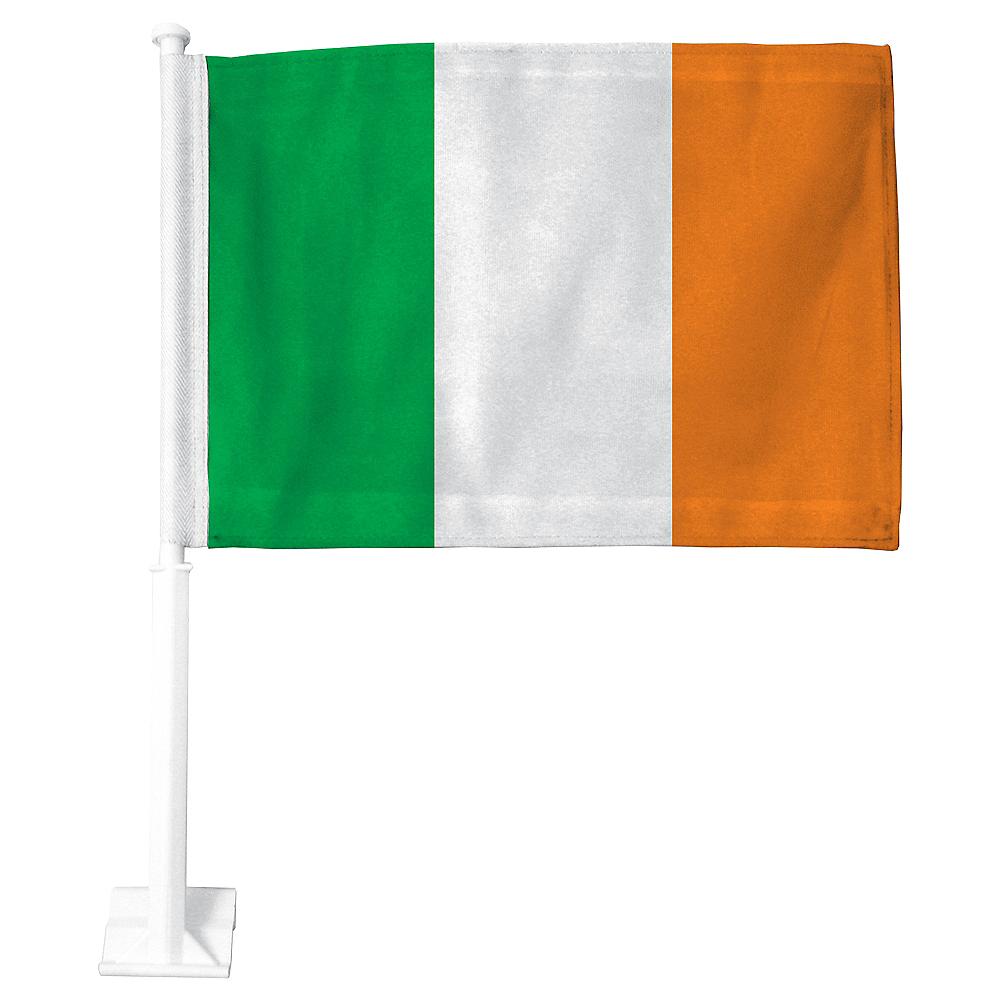 Irish Flag Car Flag Image #1