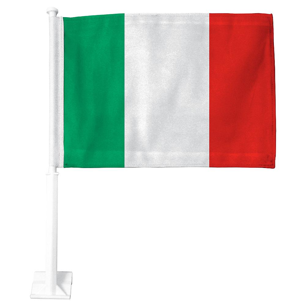 Italian Flag Car Flag Image #1