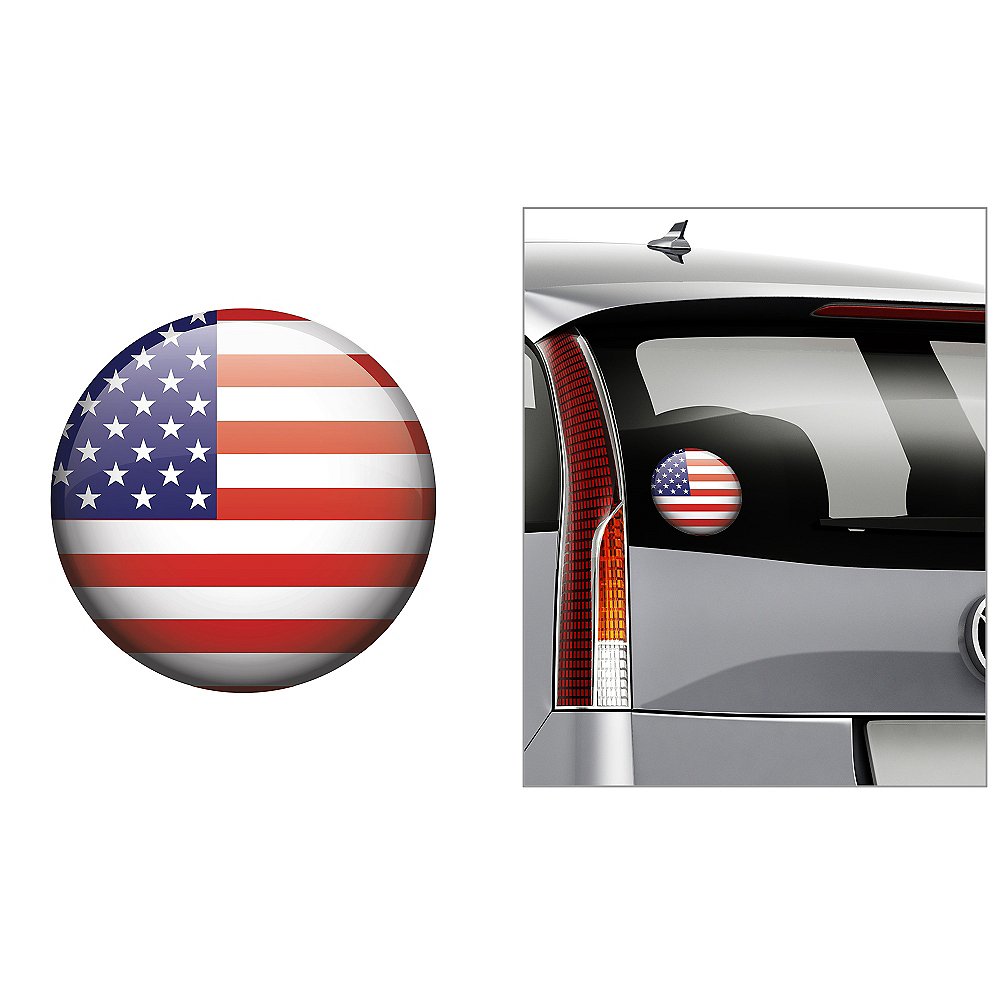 American Flag Decal Image #1
