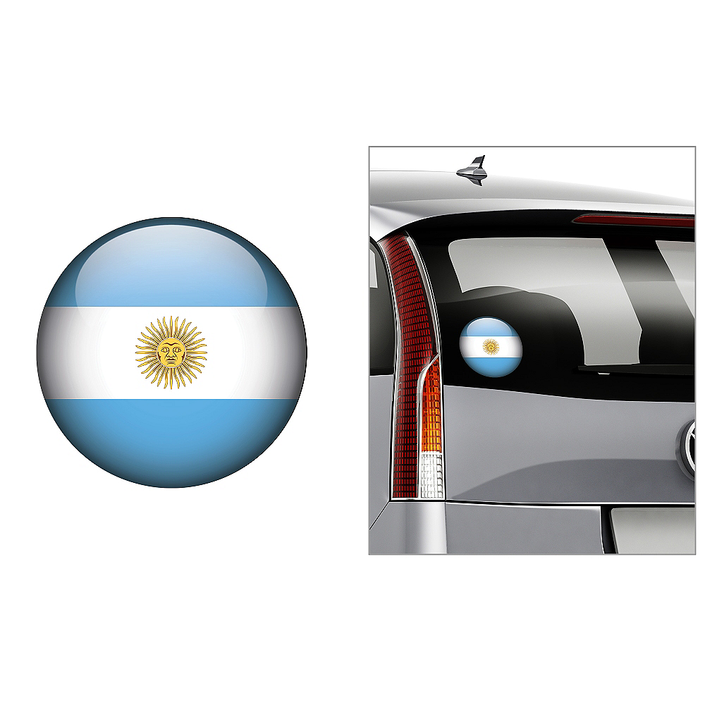 Argentinian Flag Decal Image #1