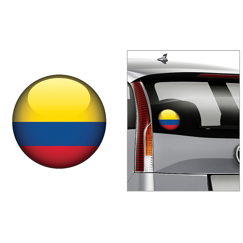 Colombian Flag Decal Image #1