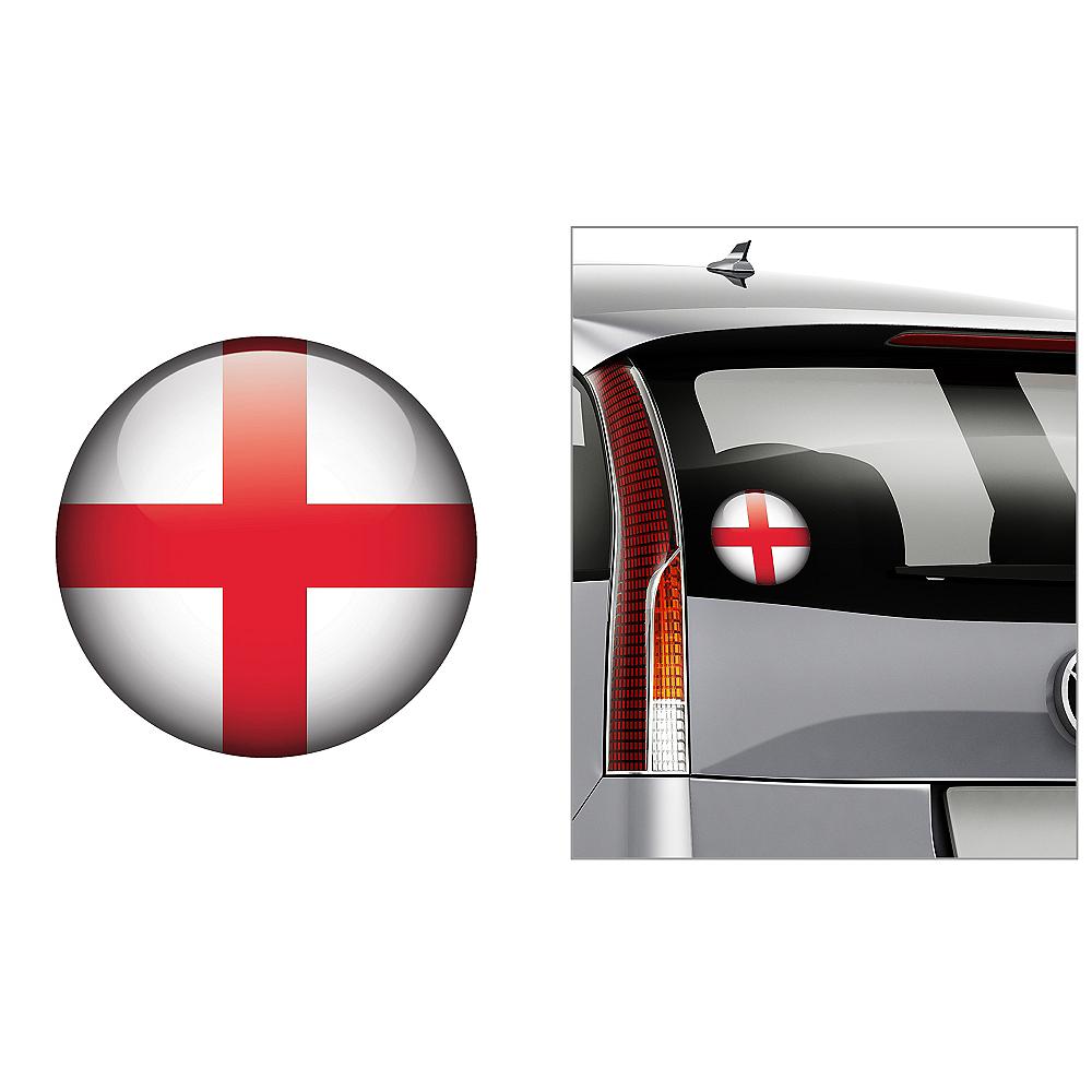 English Flag Decal Image #1