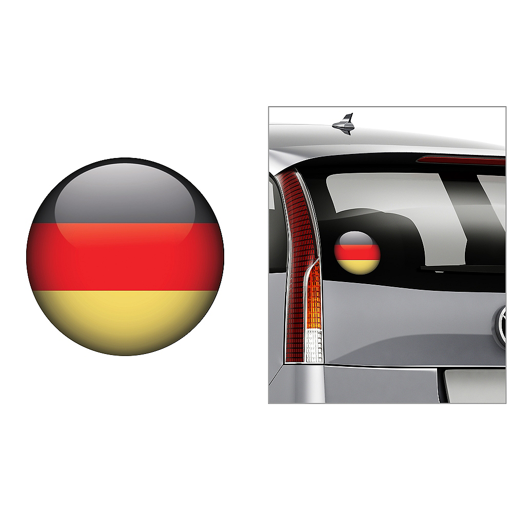 German Flag Decal Image #1