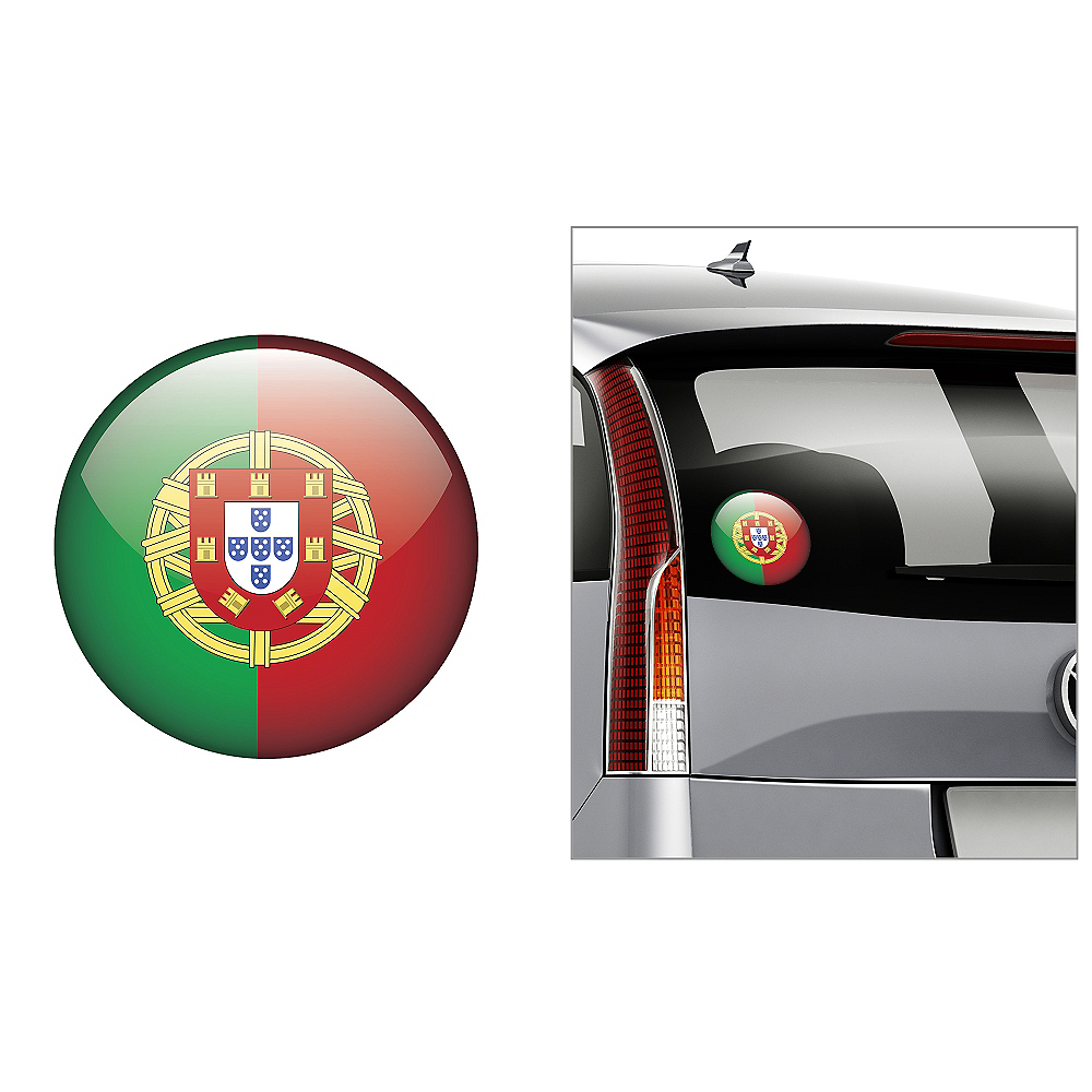 Portuguese Flag Decal Image #1