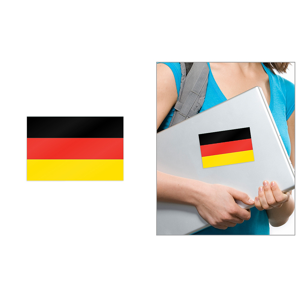 German Flag Cling Decal Image #1