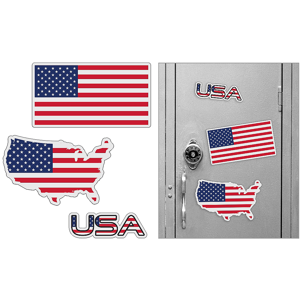 American Magnets 3pc Image #1