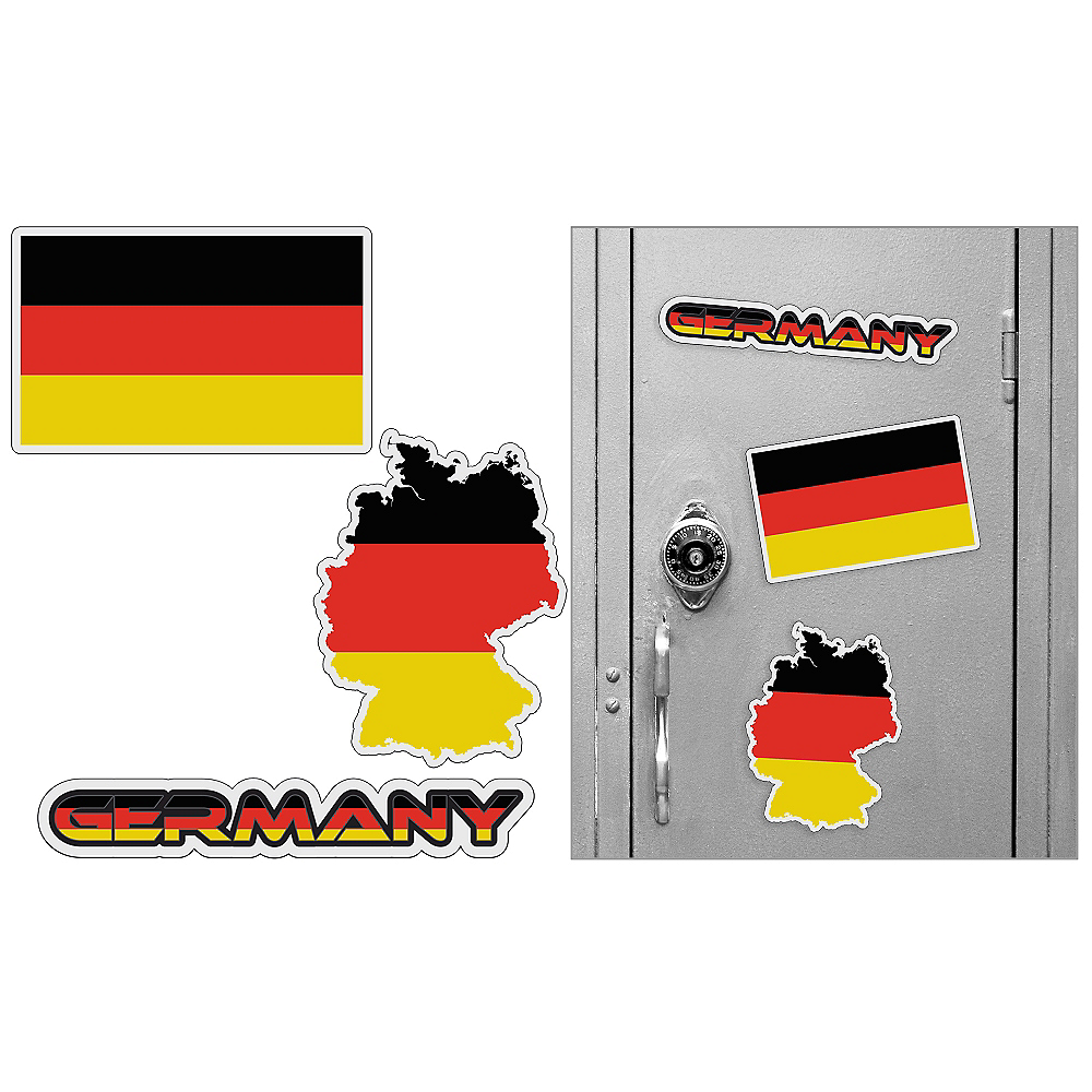 German Magnets 3pc Image #1