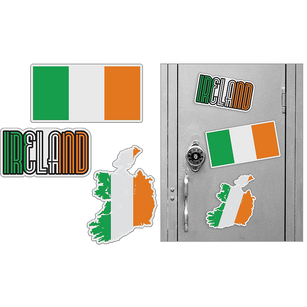 Irish Magnets 3pc Image #1