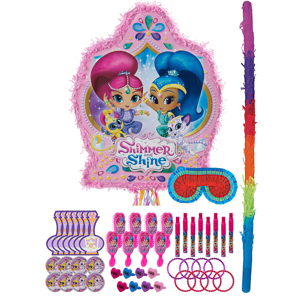 Shimmer and Shine Pinata Kit with Favors Image #1