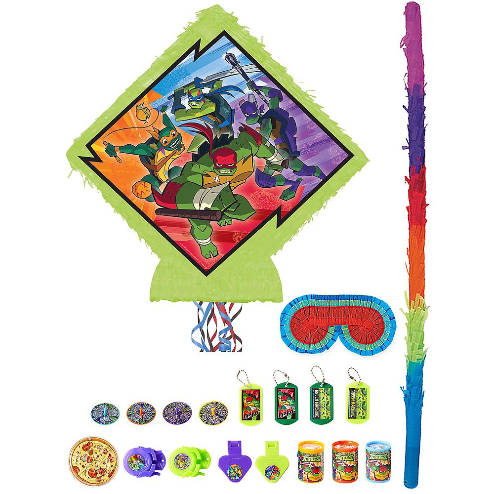 Teenage Mutant Ninja Turtles Pinata Kit with Favors Image #1