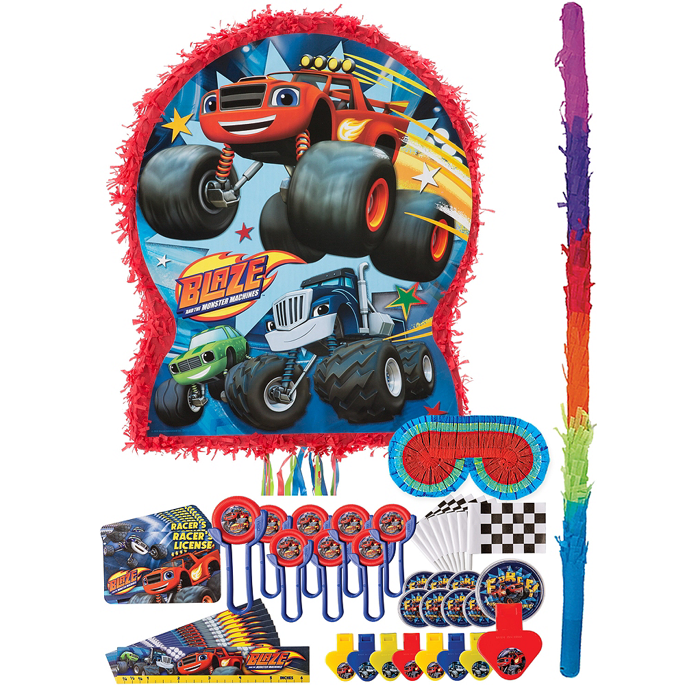 Blaze and the Monster Machines Pinata Kit with Favors Image #1