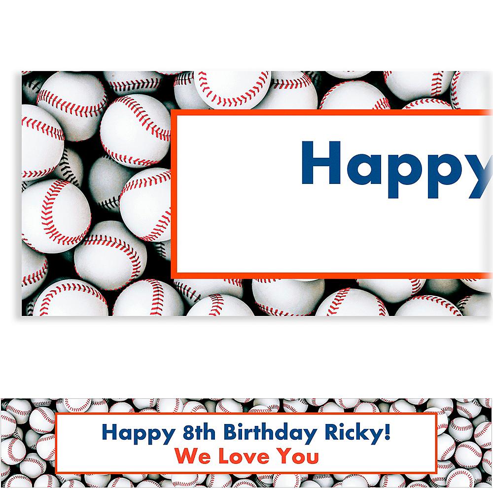 Custom Baseball Ticket Banner Image #1