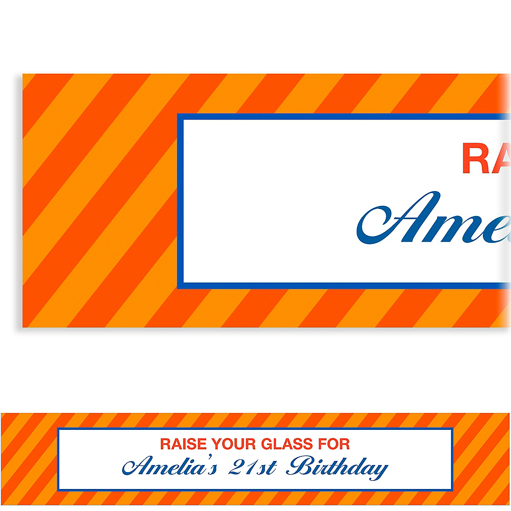 Custom Orange Generic Ticket Banner Image #1