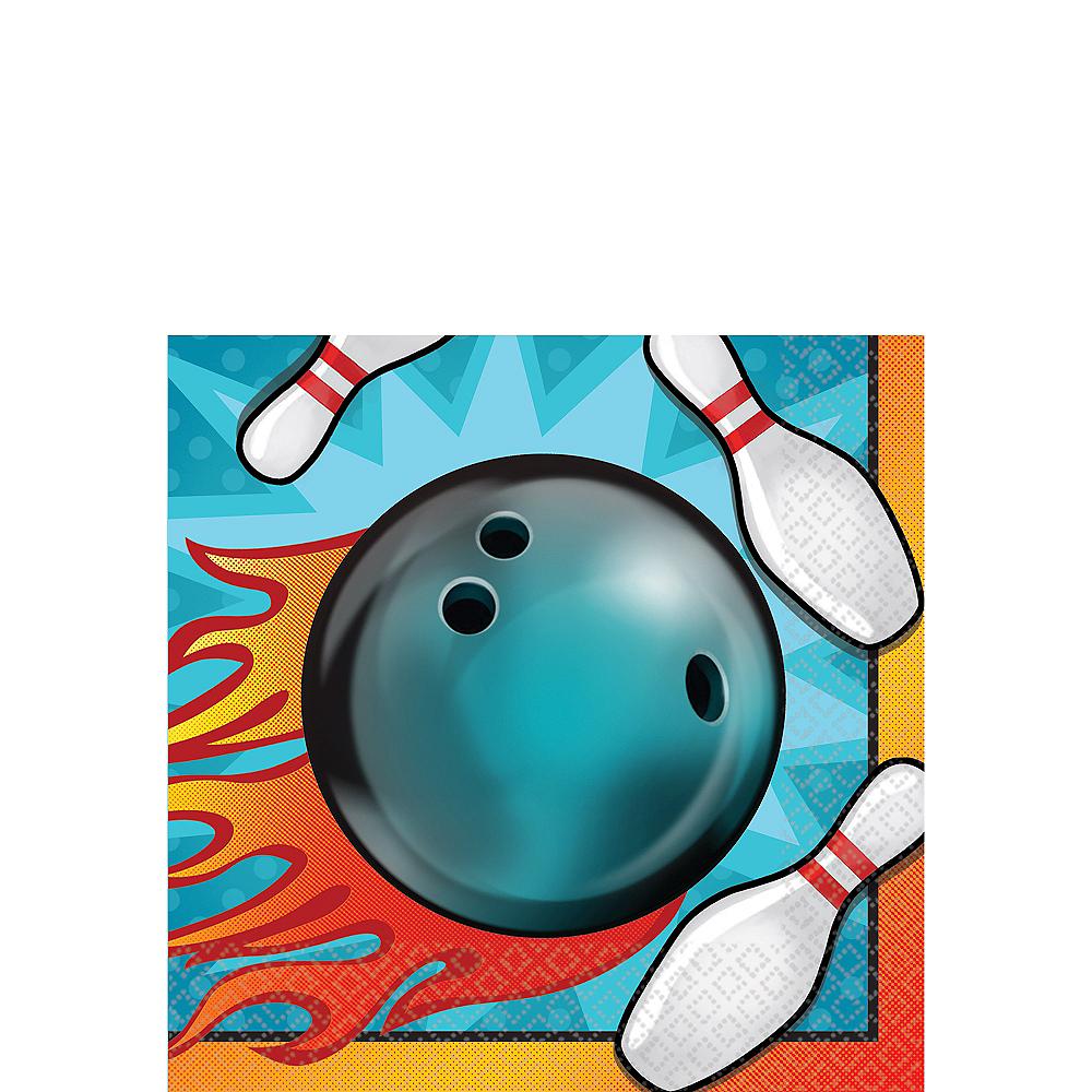 Bowling Beverage Napkins 16ct Image #1