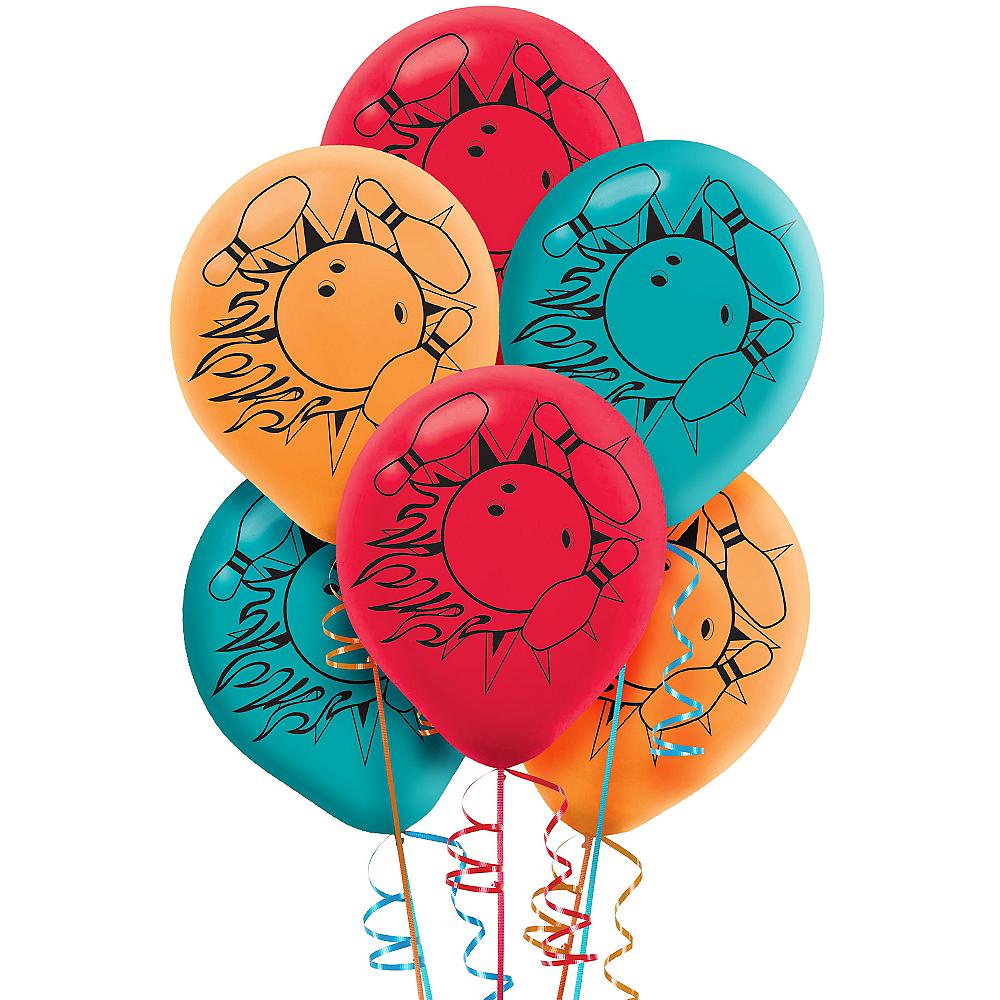 Bowling Balloons 6ct Image #1