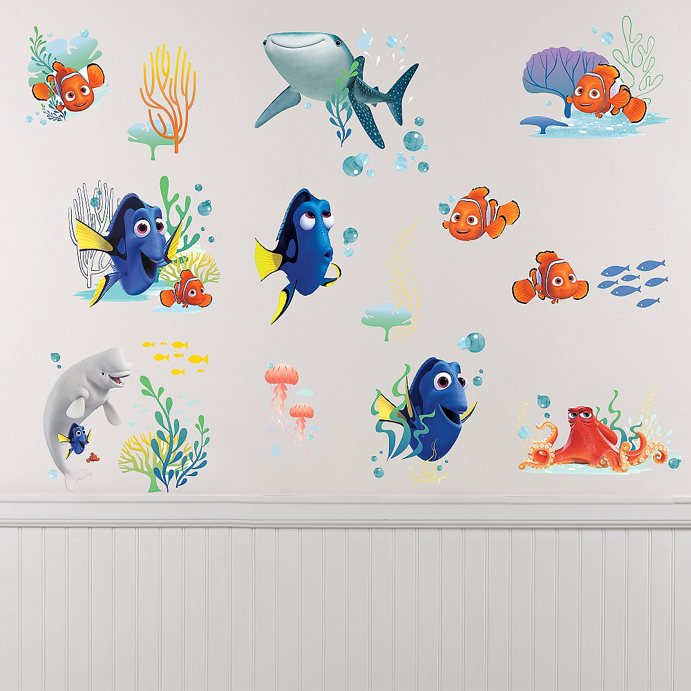 Finding Dory Wall Decals 19ct Image #1