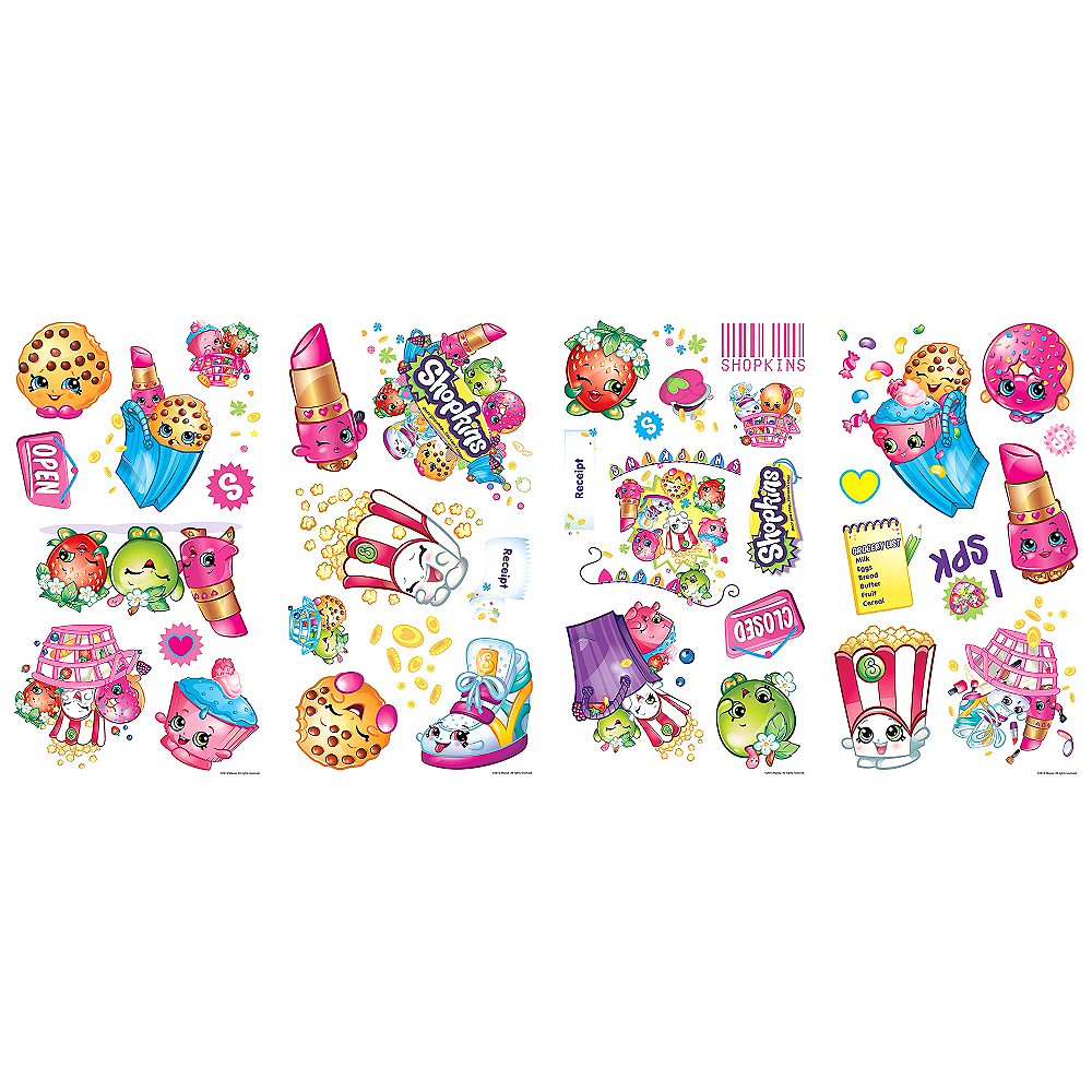 Shopkins Wall Decals 39ct Image #2