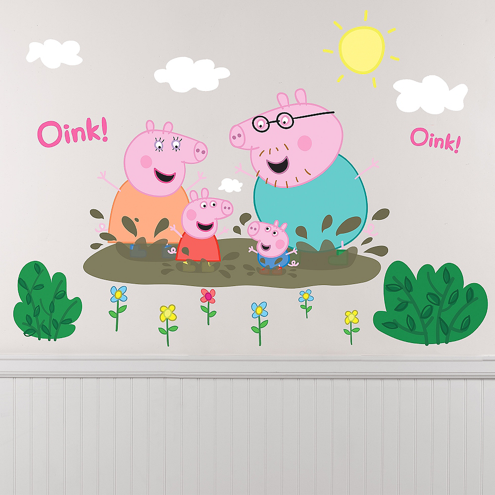 Peppa Pig Wall Decals 14ct Image #1