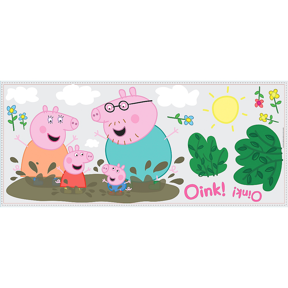 Peppa Pig Wall Decals 14ct Image #3