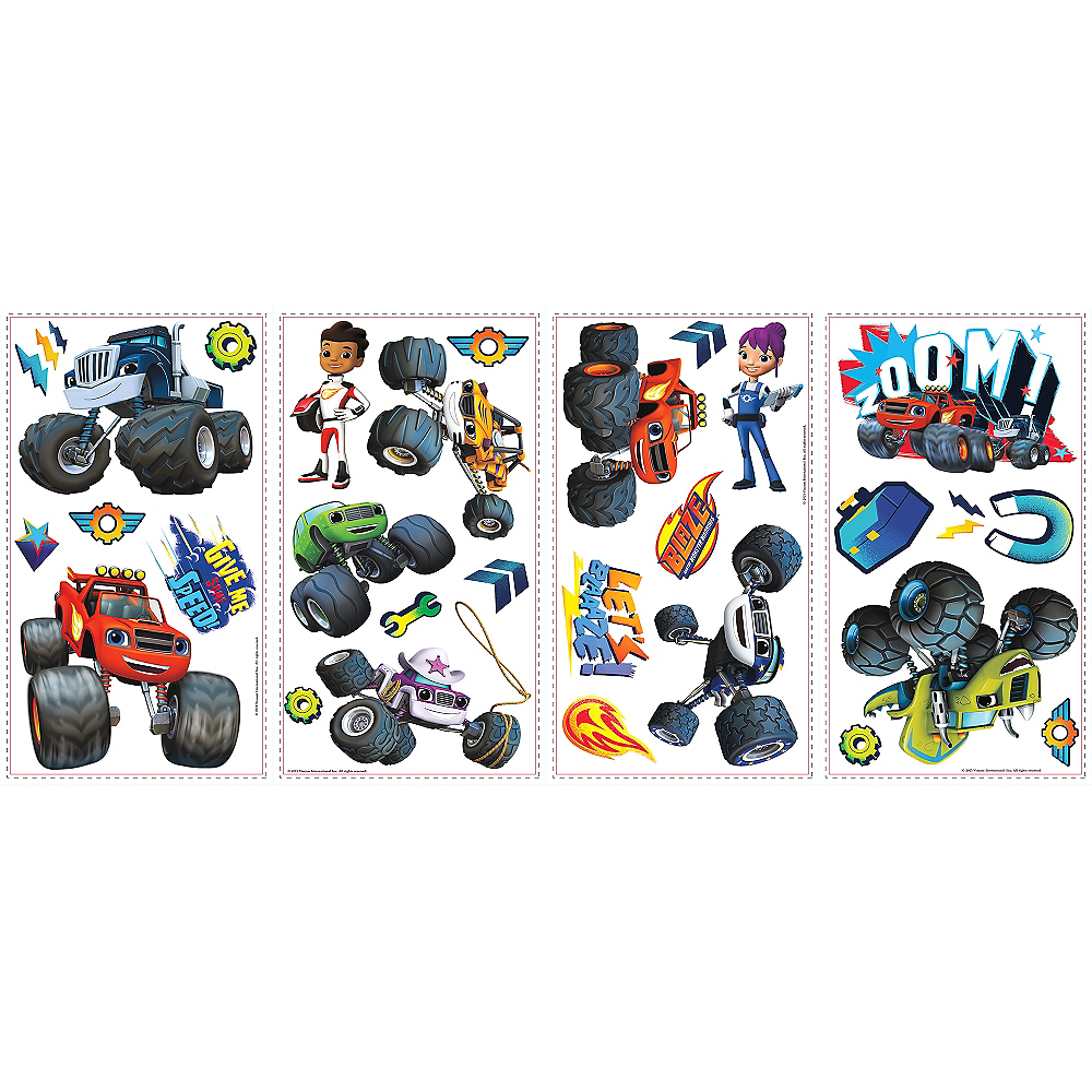 Blaze and the Monster Machines Wall Decals 28ct Image #2